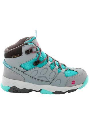 Термо ботинки теплые jack wolfskin, оригинал, р-р 35, ст 23 см