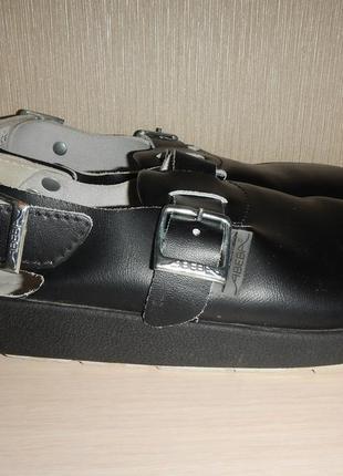 Спец обувь abeba 9110 р.40-41 сабо кожа