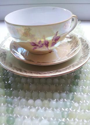 Сервиз чайный fortuna фарфор из гдр винтаж6 фото