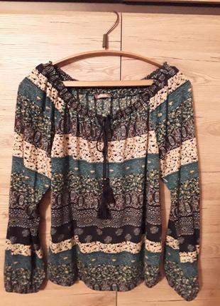 Продам блузку в этно-стиль под джинсы р. 46