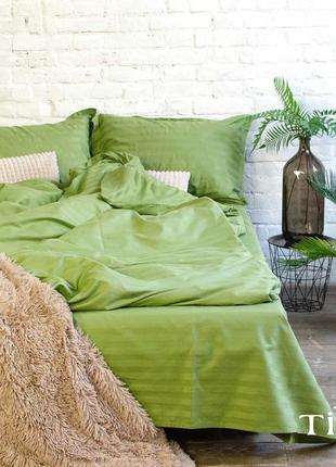 Сочный комплект постельного белья из натурального хлопка
