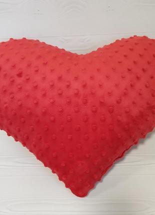 Подушка сердце 40см подарок 14 февраля