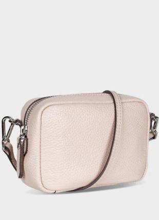 Мини сумочка ecco, натуральная кожа