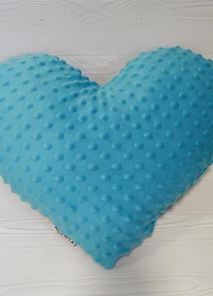 Подушка сердце 40см 14 февраля