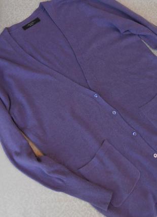 Нежнейшая кофточка шелк+кашемир  44-46 размер