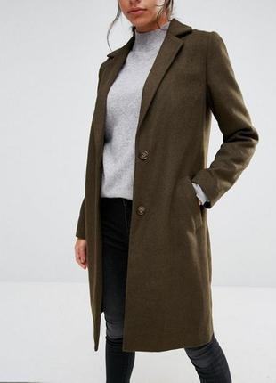 Пальто new look. женское теплое пальто. утепленное пальто (тренч, плащ). trench coat