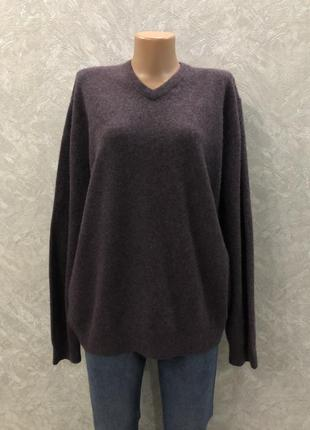 Свитер пуловер 100% кашемир