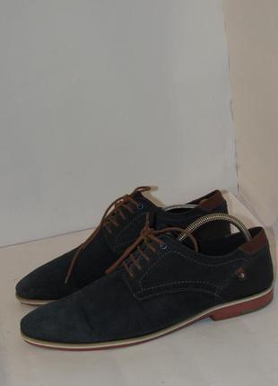 Am shoe шикарные стильные мужские туфли  b46