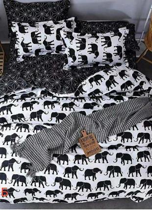 Постельное белье бязь слоны