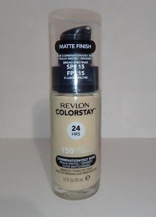 Тональный крем revlon colorstay foundation for combination/oily skin spf 15