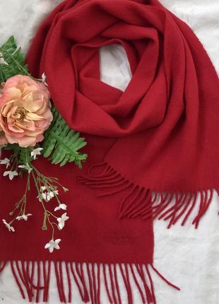Красный ♥️😎♥️ кашемировый шарф из кашемира navyboot.