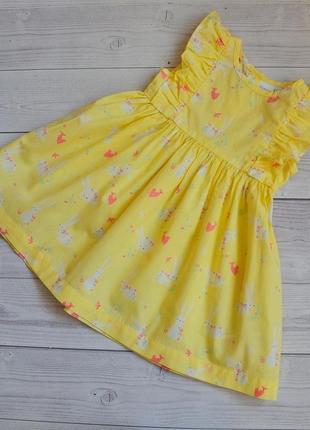 Платье  next  💓размер 1.5-2 года (замеры в личку)  💲цена 2️⃣0️⃣0️⃣грн