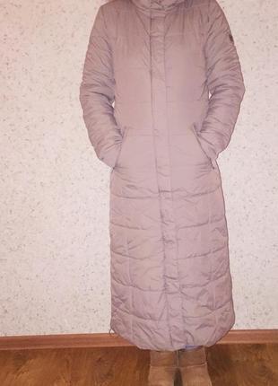 Зимова довга куртка tiffi