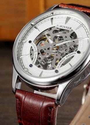 Механические мужские наручные часы t-winner
