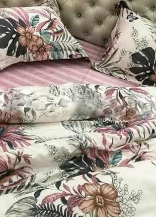 Постельное белье размер двухспальный хлопок 180*220