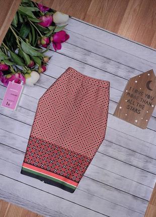 Стильная миди юбка