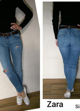 Красивые джинсики  zara
