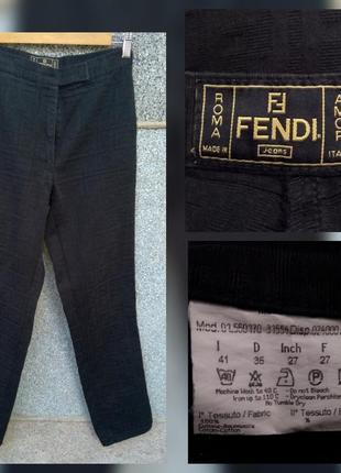Fendi джинсы штаны винтаж оригинал размер 27