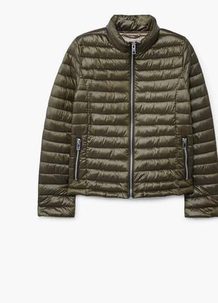Стильная демисезонная куртка mango zara s