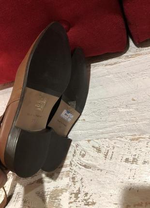 Новые натуральные фирменные ботинки 37р.5 фото