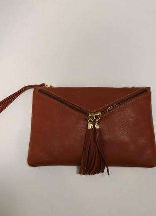 Сумка-месенджер genuine leather