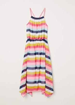 Летнее платье сарафан h&m размер на рост 158-164 см