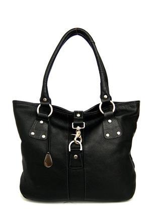 Tula. англия. вместительная кожаная сумка.