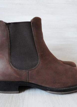 Ботинки челси ecco 100% натуральная кожа, оригинал