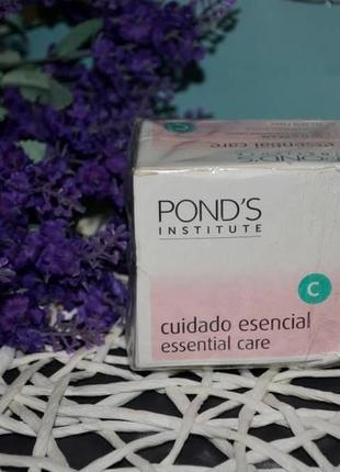 Новый pond's institute essential care питательный крем против морщин 50 мл оригинал сток