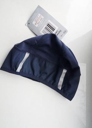 Термо шапка для бега, велосипеда, спорта с рефлекторами, унисекс, crane, германия