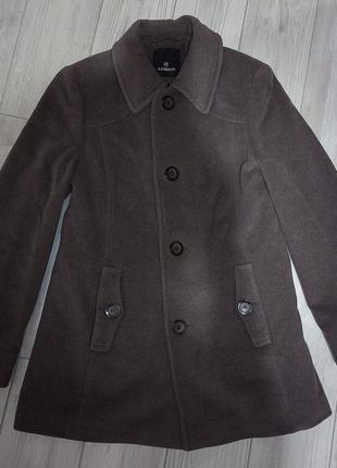 Дорогое кашемирово - шерстяное пальто италия bellandi