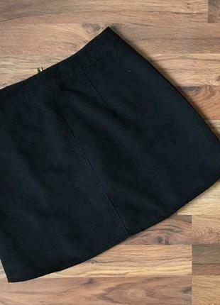 Плотные стильные темно-синие шорты размер s-m