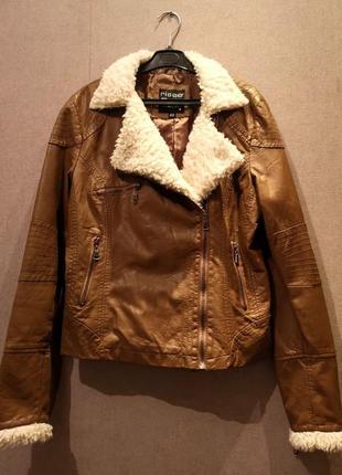 Курточка из искусственной кожи risøе
