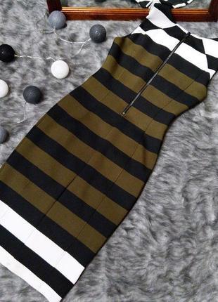 Облегающее по фигуре платье чехол футляр h&m2 фото