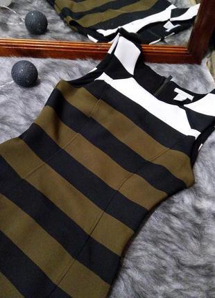 Облегающее по фигуре платье чехол футляр h&m3 фото