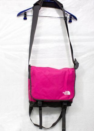 The north face сумка женская мессенджер размер 34х30х10 состояние отличное