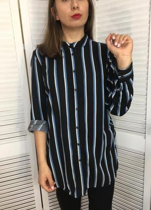 Рубашка подовжена блуза
