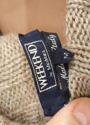 Люксовый итальянский свитер от weekend by max mara5 фото