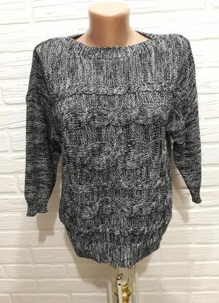 Стильный джемпер свитер р.12/евро40/укр.46
