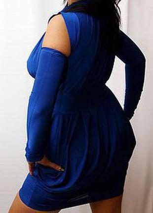 Синее платье sonya scandal