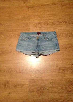 Стильні короткі джинсові шорти/під майка футболка/ oasis/14