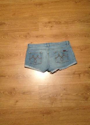 Стильні короткі джинсові шорти/під майка футболка/ oasis/145 фото