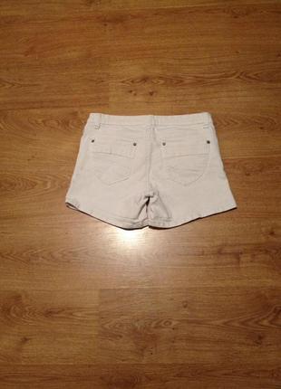 Стильні білі джинсові шорти /під майка топ футболка /l3 фото