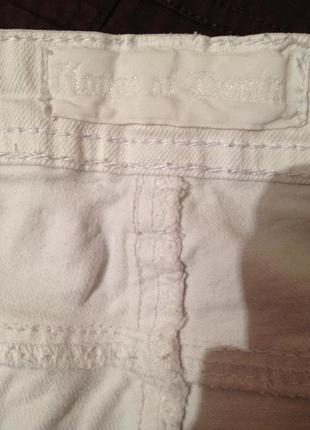 Стильні білі джинсові шорти /під майка топ футболка /l5 фото