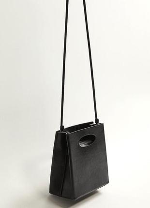 Mango новая стильная сумка кросс боди через плечо от манго