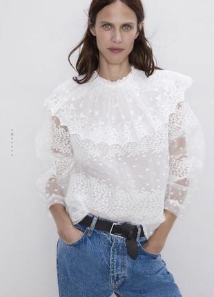 Красива блуза zara розмір xs