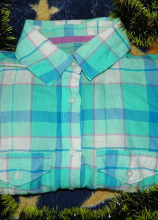 Розпродажа :) рубашка в клетку aeropostale
