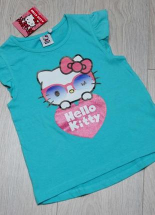 Футболка туника hello kitty  kiki&koko
