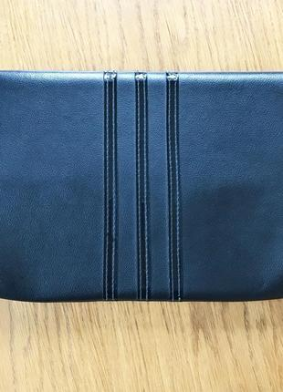 Чёрная винтажная сумка клатч