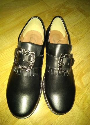 Туфли hirschkogel (немецкий бренд) натуральная кожа